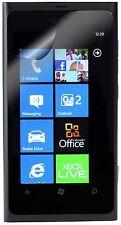 Funziona con Nokia con licenza PROTEGGI SCHERMO per Nokia Lumia 800-chiaro Confezione da x2