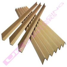 More details for 25 strong 1.2 metre cardboard pallet packaging edge guards protectors 35mm