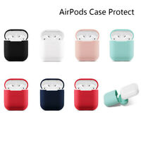 AirPods Case Protect Silicone Cover Skin Air Pod Earphone Charger CaseLD