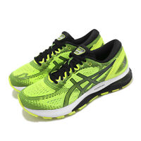 Asics Gel-Nimbus 21 Safety Yellow Black Mens Running Shoe FlyteFoam 1011A169-750