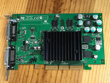 661-2815 Apple 32MB GPU NV18/GeForce4MX Dual ADC/DVI for Power Mac G4 AGP