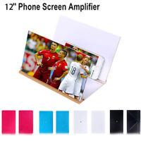 "Fashion 3D Phone Screen Magnifier Stereoscopic Amplifying 12"" Desktop Bracket PT"