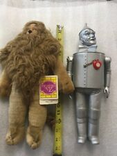 Tin Man, Lion, 14 Inch Wizard Of Oz  1987 Figures