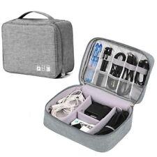 Electronics Travel Organizer USB  Cable Storage Bag Portable Case Accessories