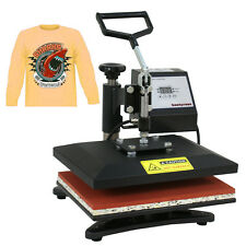"12""x10"" Swing Away Clamshell Heat Press Machine Digital Transfer Sublimation"