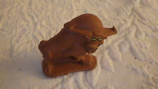 "General Foods 1988 Rubber Bull Vintage Toy Animal 2"" x 1 1/2"""