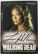 The WALKING DEAD - Laurie Holden as ANDREA - Autogramm  / Autograph Card