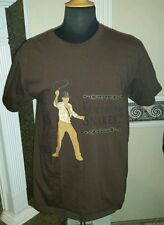 """Indiana Jones Raiders of the Lost Ark """"Why Did It Have to Be Snakes?"""" TSHIRT XL"""