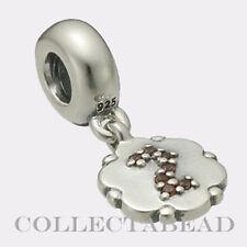 Authentic Pandora Sterling Silver Hanging Garnet 2 Bead 790550GA2  *RETIRED*