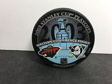 2003 Stanley Cup MIGHTY DUCKS of ANAHEIM vs Minnesota Wild Limited Edition Puck