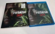 Predator (Blu-ray/DVD, 2013, 2-Disc Set, 3D)