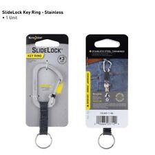 SlideLock Key Ring #3 Stainless Steel- Stainless