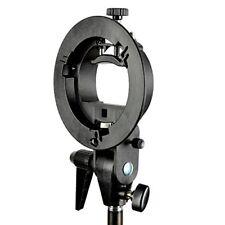 PhotR S-Type Bracket Bowens Mount Holder Fit Speedlite Flash Umbrella Speedlight