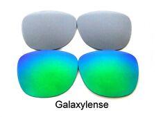 Replacement Lens For Ray Ban RB2140 Original Wayfarer Green/Grey 54mm Sunglasses