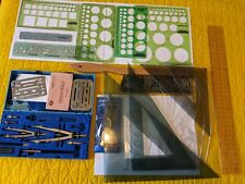 Lot of Drafting Supplies: STAEDTLER RAPIDESIGN ARTTEC FRENCH CURVE RULER