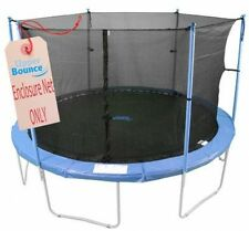 Trampoline Net only for a 15.FT Round Enclosure Safety Pads Mat Kids Garden