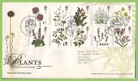 G.B. 2009 Plants set on Royal Mail First Day Cover, Tallents House