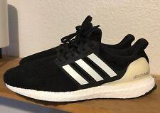 Men's Adidas Ultra Boost 4.0 Sz 8.5 'Show Your Stripes' Black White AQ0062