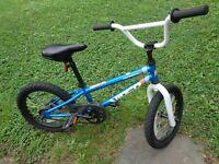 "Vintage Diamondback BMX Viper Mini Blue Original Bike BMX 16"" Wheels"