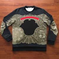 Authentic GIVENCHY Baroque Blazon SS17 Sweatshirt Size M (Fits Large)