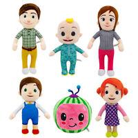 Plush Toys for Cocomelon JJ's Family Educational Soft Stuffed Doll Kid Xmas Gift
