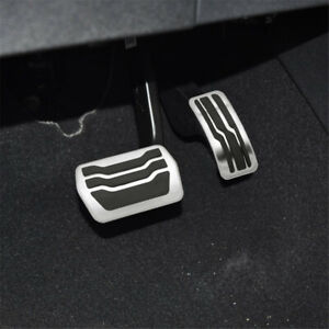 2Pcs AT Car Pedals Protection Cover For Ford Focus MK2 MK3 MK4 Escape 2005-2020