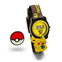 Pokémon Pokemon Go Slide Charm Pikachu and Pokeball Limited Edition LCD Watch