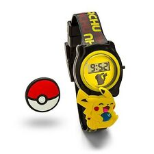 Pokémon Pokemon Go Slide Charm Pikachu and Pokeball Limited Edition LCD Watch