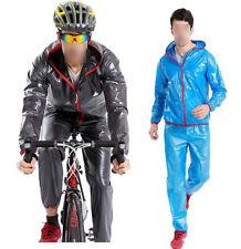New Men's Motorcycle Riding Clothing Male Raincoat Rain Pants Suits Rainwear