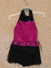 ice skating dress girls preowned size L