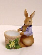 Partylite Bertie Bunny Votive Candle Holder Easter Rabbit