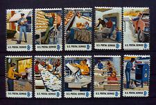 """USA 1973 Postal Service Employees Stamps,Briefmarken für Postangestellte.(835"""")"""