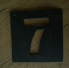 Pochoir métal 10 x 10 cm chiffre 7 neufs Athezza