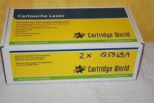 Lot de 2  Toners Compatible Laser HP Black 49A Q5949A hp LaserJet 1160 1320
