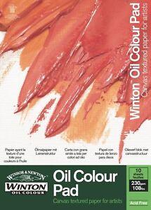 Winsor & Newton Winton Oil Paint Pads