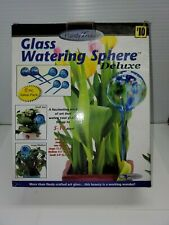 Glass watering globes