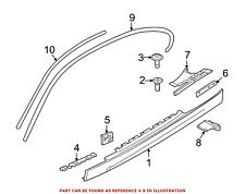 For BMW Genuine Stone Deflector Right 51777117638
