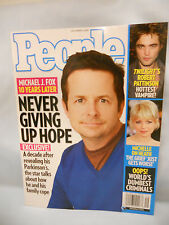 PEOPLE Magazine December 8, 2008 Michael J. Fox 10 Years Later