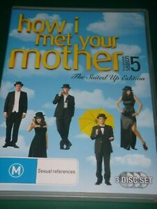 How I Met Your Mother DVD Series 5 SEASON Five Fifth - SAME / NEXT DAY POST