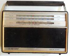 VINTAGE RADIO SHARP SOLID STATE FY-178L MADE IN JAPAN 196?