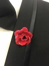 ND02-O Men's Flower Lapel Pin Boutonniere Brooch Enamel Special Free Shipping