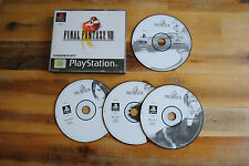 Jeu FINAL FANTASY VIII 8 (SN) sur Playstation 1 PS1 (one) REMIS A NEUF PAL