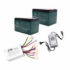 48v Controller + 2x 12v Batteris + Charger Set for Atv E-bike Electric Scooter
