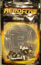 Aeroflow Stainless Steel Hard Line Clamps (12 Pack)