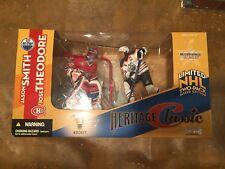 Jose Theodore (Canadiens) / Jason Smith (Oilers) McFarlane NHL Heritage Classic