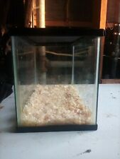 5 gallon tank with lid (can be used for fish or other small animals)