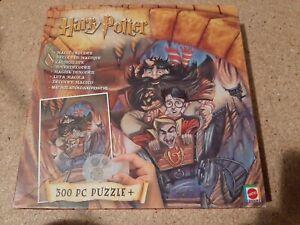 "Harry Potter MAGIC DECODER 300 pc Jigsaw Puzzle 18"" x 24"" 2000 Mattel"