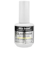 Mia Secret Glass Finish UV LED Gel Natural & Artificial Nails 1/2 oz Made USA