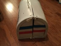 Vintage 70's Barbie's Friend Ship United Airlines Airplane Playset Fold Carry