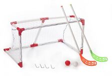 Spartan-Junior Hockey set. 1 puerta (91x67x49cm). 2. sticks 2 pelotas. 4 arenques.